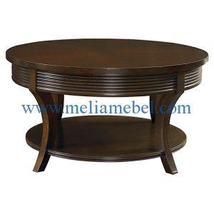 Meja Ruang Tamu Bundar Minimalis merupakan produk meja tamu terbaru dari mebel jepara yang memiliki desain modern serta kualitas yang baik. produk ini memiliki ukuran tinggi 65 cm dan diameter 80 cm.