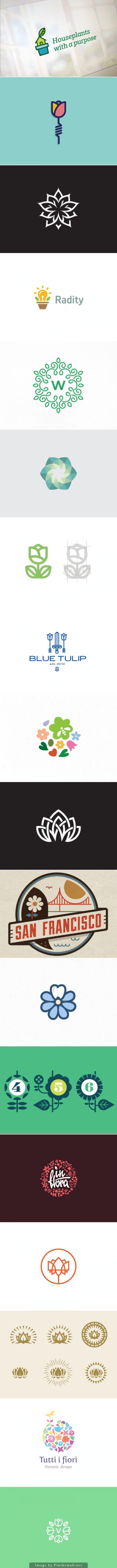 Fantastic Plant  Flower Logos