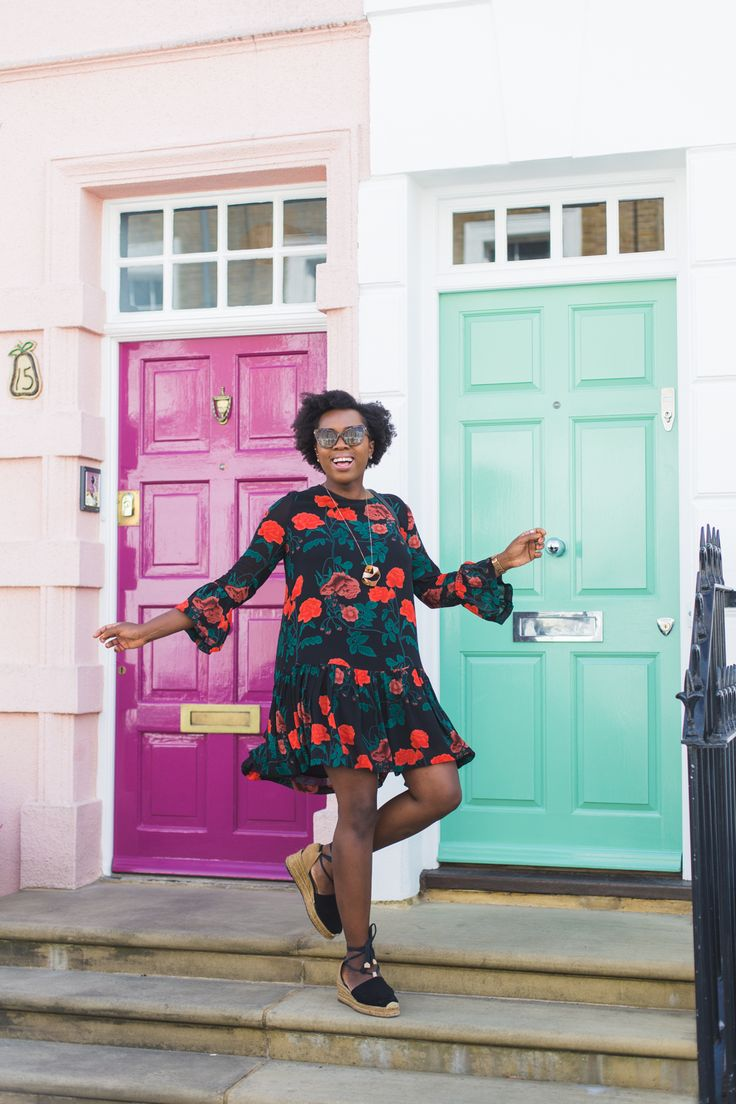 With a big birthday coming up, I'm looking back at some of the things I've realised throughout my twenties. I'm wearing a Ganni floral dress and Castaner espadrilles.
