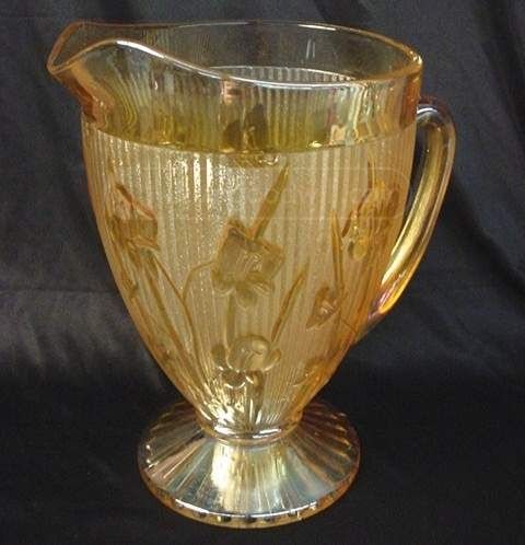 1000 Images About Marigold Iris Depression Glass One Of My Favorite Things On Pinterest