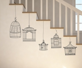 Decorating Ideas with Wall Art by Stickaroo! Freaking amazing stickers at reasonable (really cheap) prices