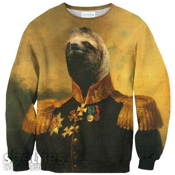 Commander Sloth Sweater – Shelfies