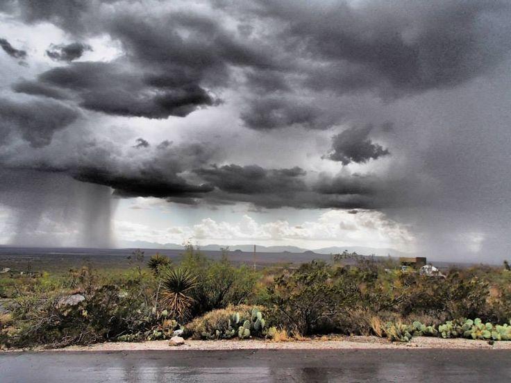 Alamogordo, New Mexico Summer Storm