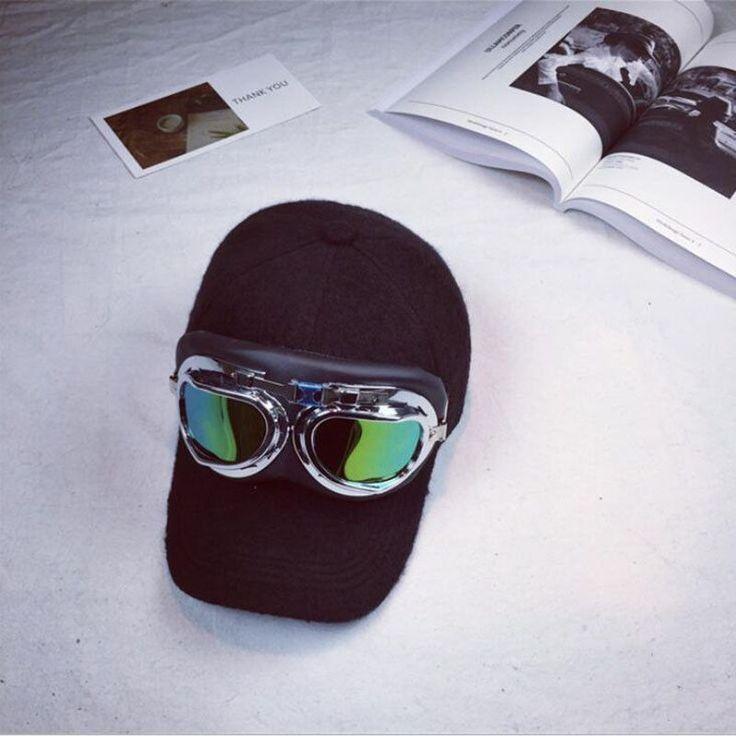 Warmer Winter Thicker Glasses Baseball Caps & Earrings Men's Mantle Brand Snapback Winter Cap Earmuffs Flaps Men's Cap 2017 new