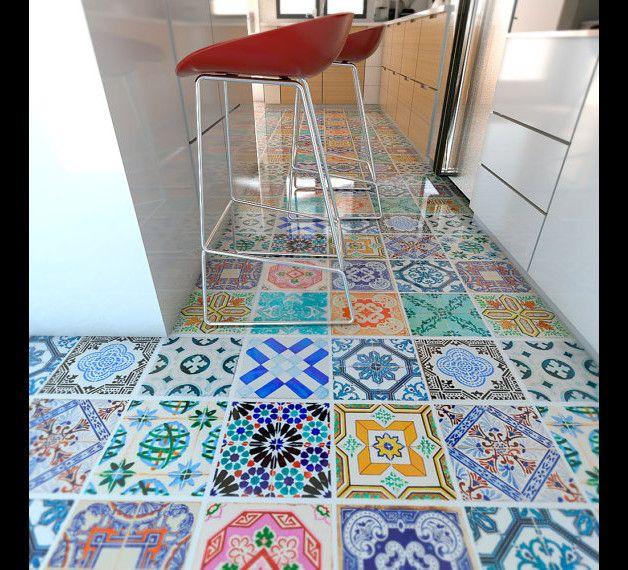 Selbstklebende fliesen  Die besten 25+ selbstklebende Wandfliesen Ideen auf Pinterest ...