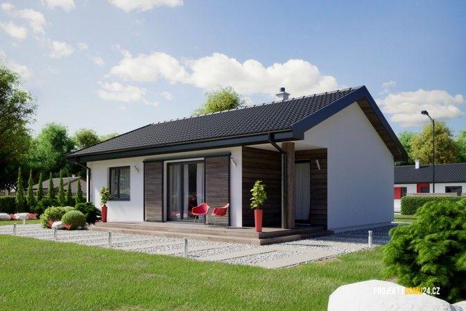 projekty domů - projekt domu FRESH