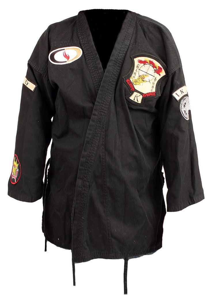 Elvis Presley's (owned and worn) Kenpo Karate Gi