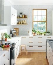 how to clean ikea melamine kitchen doors