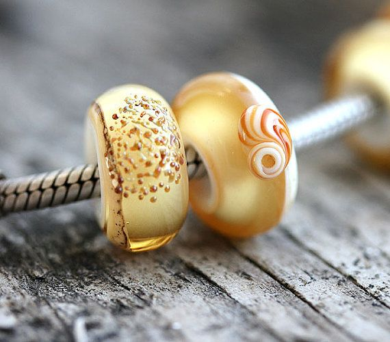 Beach European Charm Beads Large hole glass beads  by MayaHoney  #forsale #etsy #glass #handmade #homemade #shopping #handcrafted #forgirl #jewelry #lampwork #fashion #mayahoney #bracelet #pandora #beads #european #europencharm #charm #charmbeads #troll #forbracelet #beach #shells