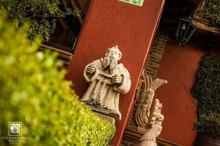 Villa Montaña está lleno de sorpresas, donde menos lo esperas habrá siempre un detalle que embellezca el ambiente. 🍃  #HotelVillaMontaña #DescubreVillaMontaña