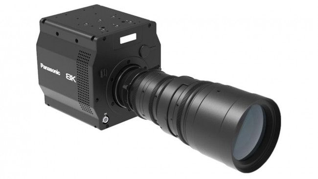 Panasonic has debuted a prototype camera with an