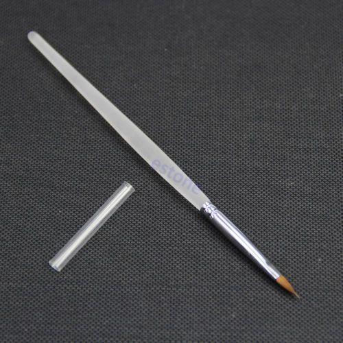 U119 5 шт./лот № 2 художественный дизайн рисунок живопись расставить щетка для ногтей украшения профессиональный новые горячие