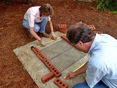 brick bbq DIY