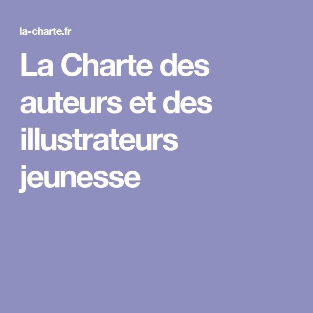 La Charte des auteurs et des illustrateurs jeunesse