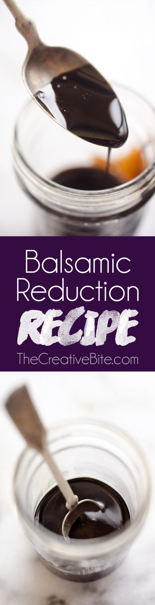 Everyone needs a great Balsamic Reduction Recipe in their repertoire! Whether you want to add a great glaze to meat or dress up a salad with something special, balsamic reduction is a sweet and tangy sauce that adds amazing flavor to any dish. #Balsamic #Glaze #Sauce