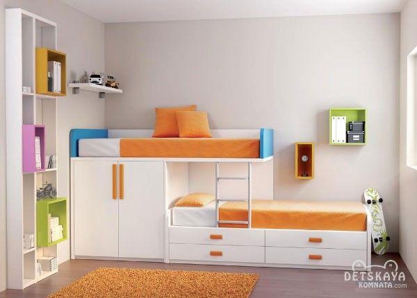 Детская двухъярусная кровать для мальчиков фото
