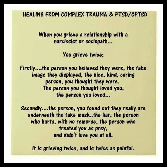 healing after relationship with sociopath