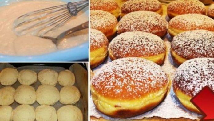 Lahodné domácí koblížky z trouby posypané vanilkovým cukrem – hotovo máte za 30 minut! | Milujeme recepty