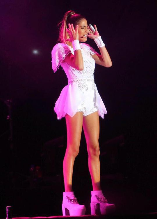 Martina Stoessel in concert