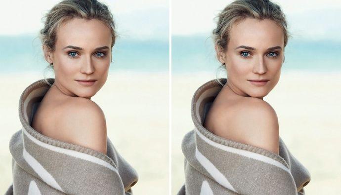 Диана Крюгер в рекламной кампании Chanel Beauty