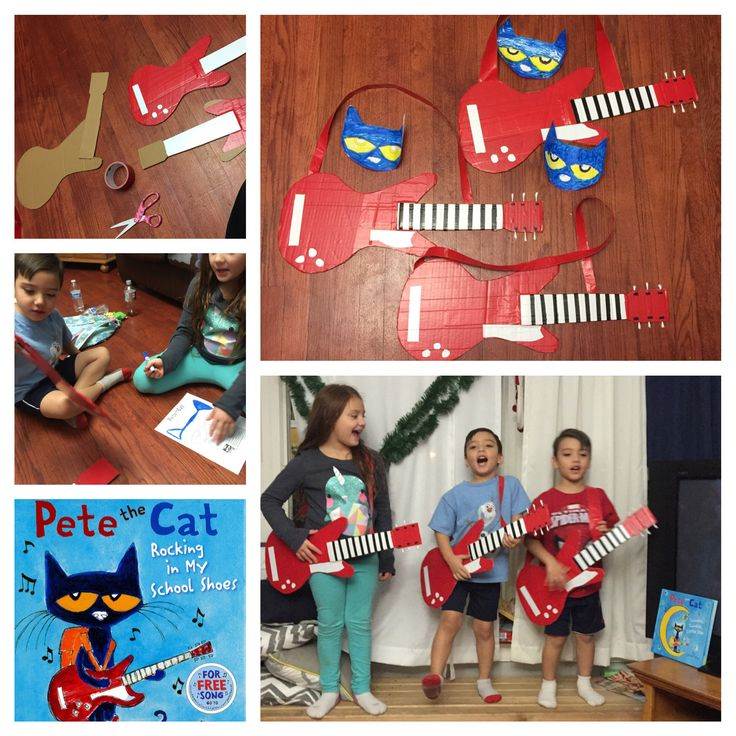 """Pete the cat project """"Rocking in my school shoes"""""""
