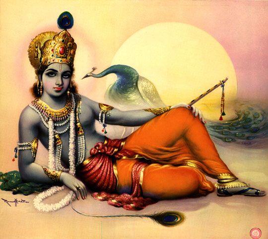 Lord Gopal Krishna Paintings Detail - All India Arts