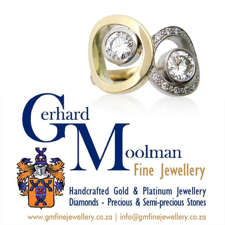 Gerhard Moolman Fine Jewellery specialises in creating handcrafted fine jewellery in gold and platinum set with diamonds, precious and semi precious stones. We understand the key elements of creativity, craftsmanship and quality in designing innovative jewellery.  www.gmfinejewellery.co.za  For any queries please contact: gerhard@gmfinejewellery.co.za  Shop 0/1 B | High Street Shopping Village | Durban Rd | Tyger Valley