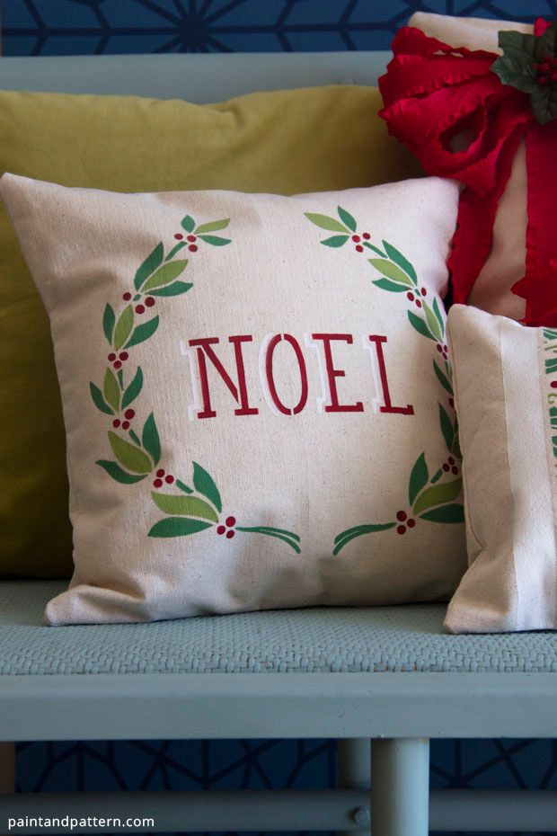 Christmas Pillows :: Debbie @ Confessions of a Plate Addict\u0027s clipboard on Hometalk Idea Box by Debbie @ Confessions of a Plate Addict & 246 best Creative Pillows images on Pinterest | Cushions Pillow ... pillowsntoast.com