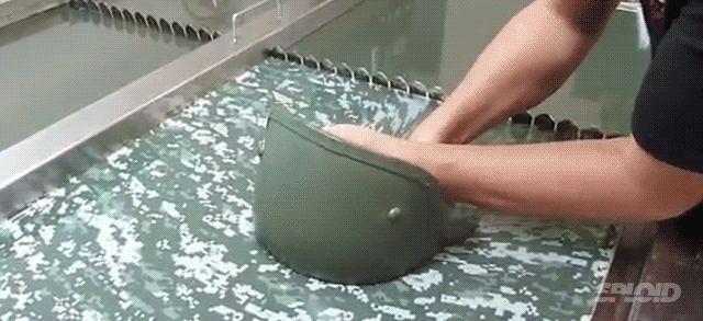 Así funciona la casi-mágica técnica de la impresión por agua