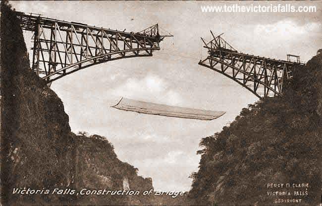 Bridge construction (photo by Percy M Clark)