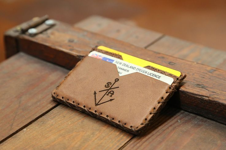 COLORADO $45.00 - Premium grade leather - Anchor Stitch - Engraved - Three card slots - One cash slot   http://www.southernanchorsurf.com/new-products/colorado
