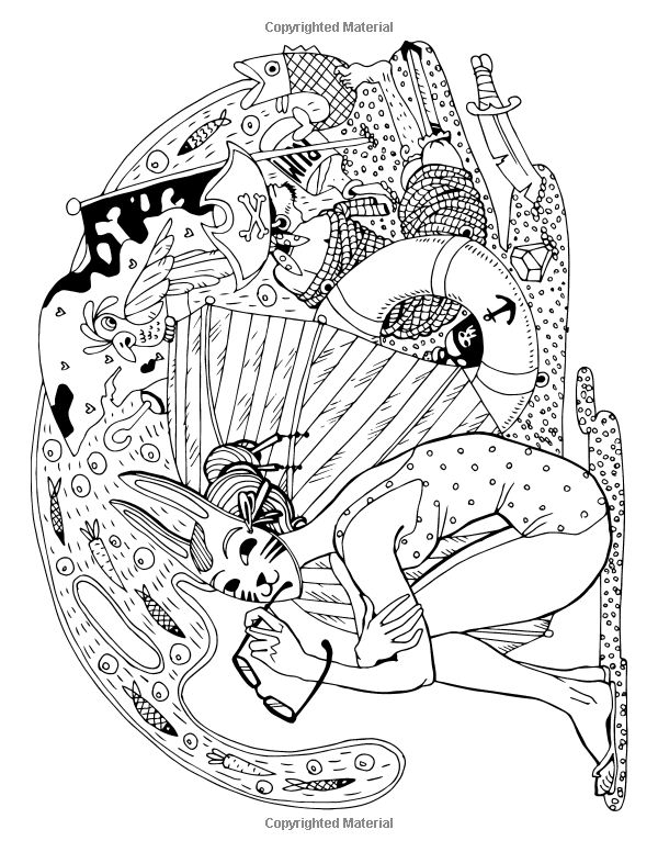 bazarro coloring book pages - photo#2