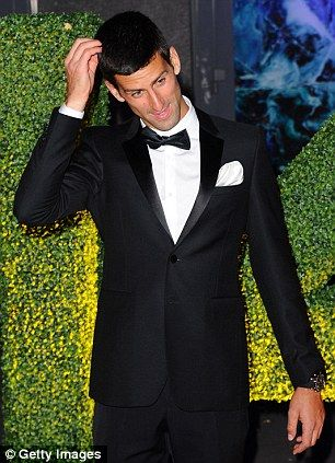 Novak Djokovic attends the Wimbledon Champions Dinner...