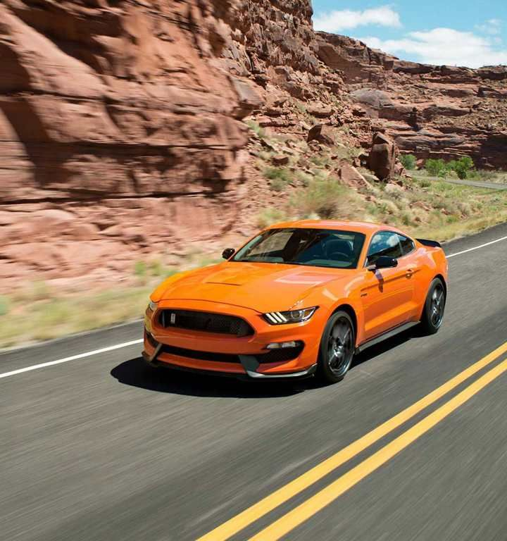 2018 Shelby Gt350 In Orange Fury Sports Car Photos Ford Mustang Mustang