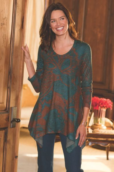 Renaissance Top I - Multi-colored Top, Tops & Tees, Clothing | Soft Surroundings