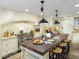 Arts Crafts Kitchen - mediterranean - kitchen - san francisco - by Mueller Nicholls Cabinets and Construction