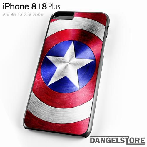best loved 2508d 88388 Captain America Cool Shield For iPhone 8   8 Plus Case   Products ...