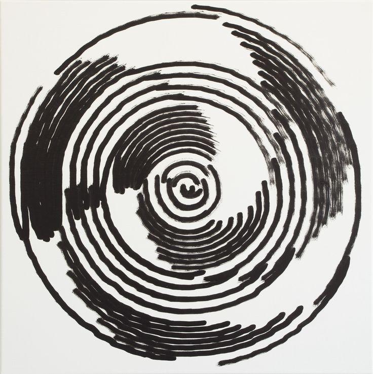 Simon Ingram, No 30, 23 Oct, 2014, sum 1161.399, Oil on linen, 850 x 850mm