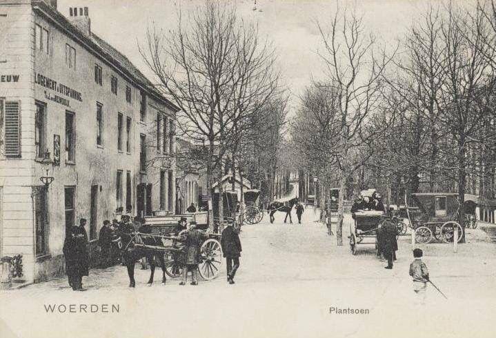 Plantsoen 1900-1935