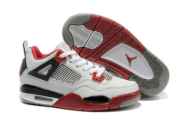 Authentic Nike Shoes For Sale Women Air Jordan 4 Retro Fire Red [Women Air  Jordans -