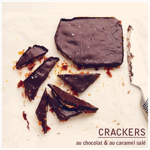 Crackers, Caramel and Chocolate on Pinterest
