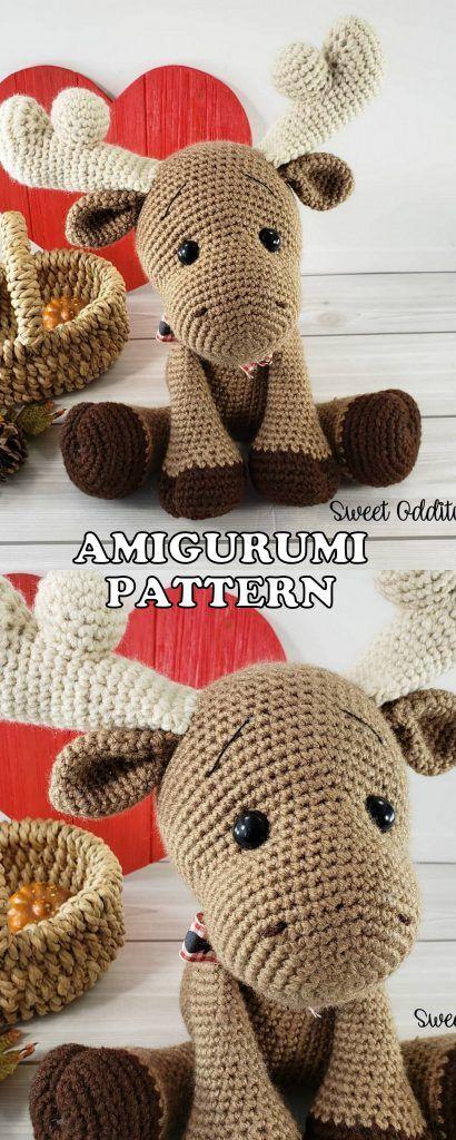 16 Greatest Amigurumi Animal Bear Canine Bunny Free Crochet Patterns – Amigurumi Croche…