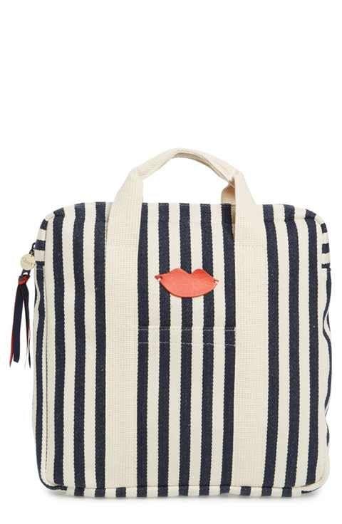 Clare V. Simon Stripe Backpack