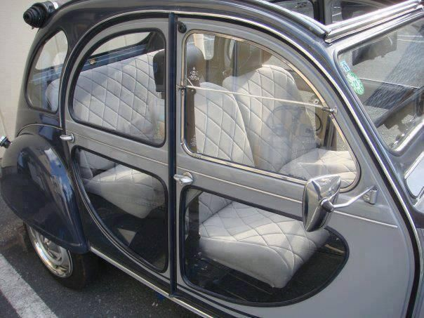 Citroën 2CV transparent