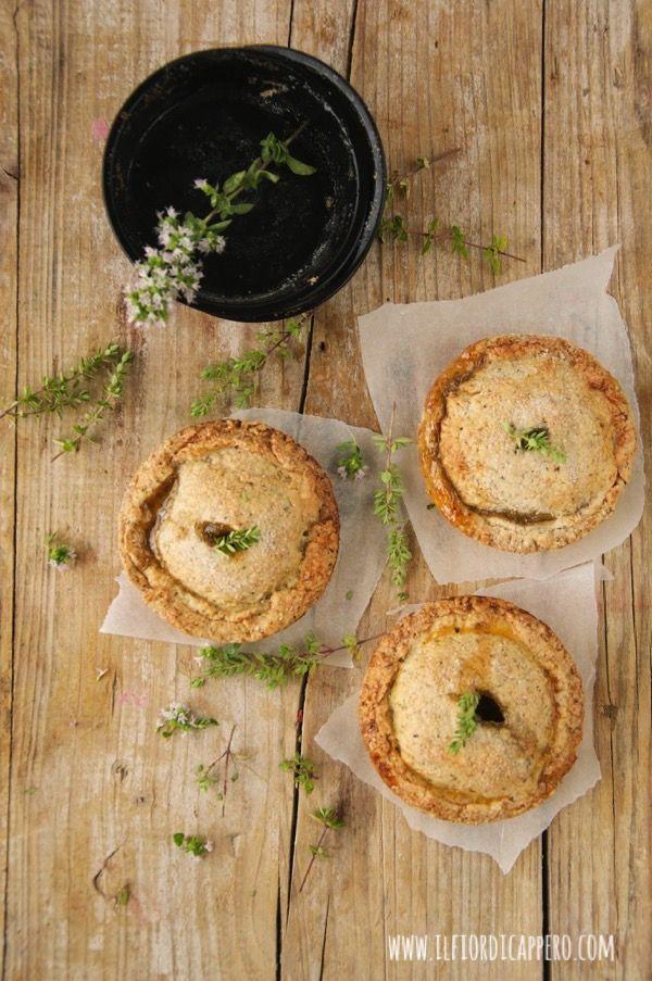 Irresistibili mini pie con ripieno di mele, timo, zenzero e cannella | il fior di cappero