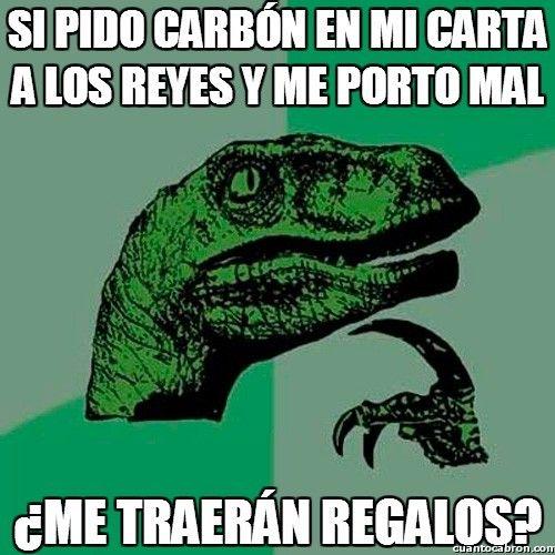 #filosoraptor #Reyes #Magos #humor en español.
