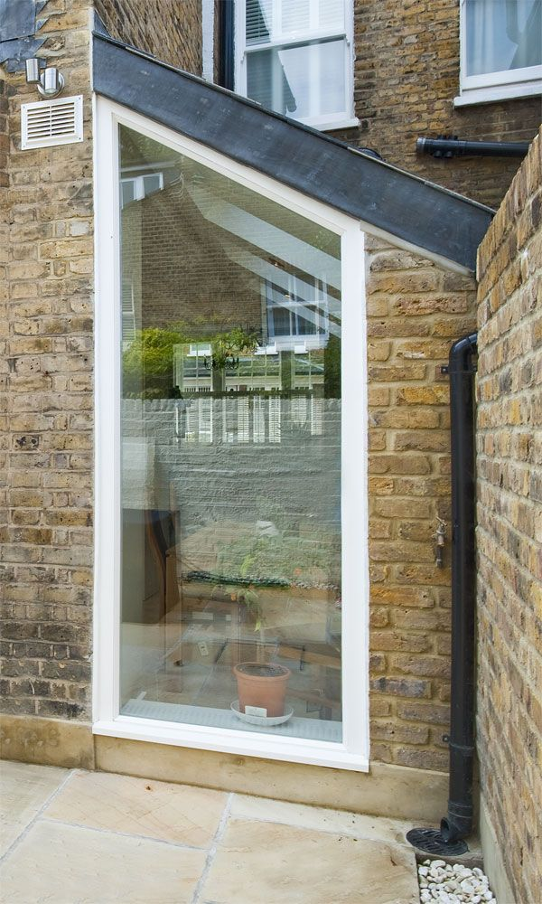 Fixed window for the home pinterest open plan living for Back door with window that opens