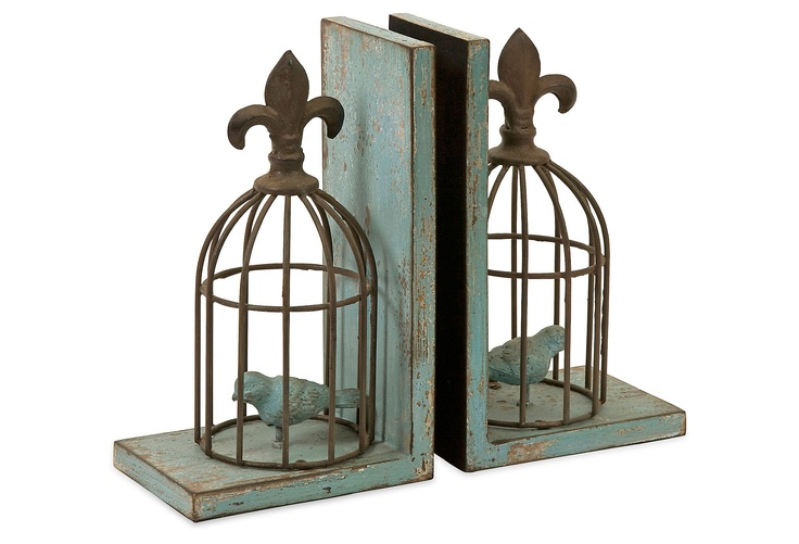S/2 Birdcage Bookends on One Kings Lane today