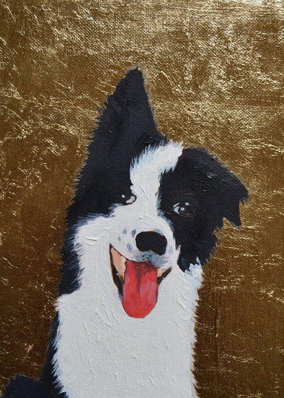 Custom Dog Painting Pet Portrait Painting by BarraganPaintings