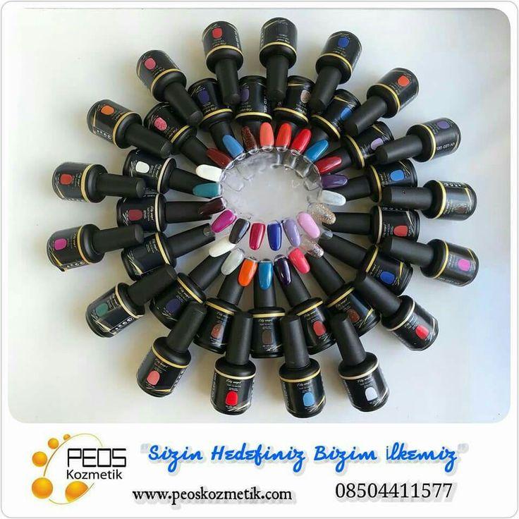 Peos Kozmetik Geniş Renk Seçeneği İle Kalıcı Oje Uygulamalarınız da Fark Yaratın. #Kalıcıoje👈 #KalıcıFrench👈 #TırnakSüsleme👈 #KalıcıRenkler👈  #UygulamaVideo #UygulamalıEğitim #Sertifika #Ücretsiz👌👍👈👈👈👈  Detaylı Bilgi İçin 08504411577 www.peoskozmetik.com